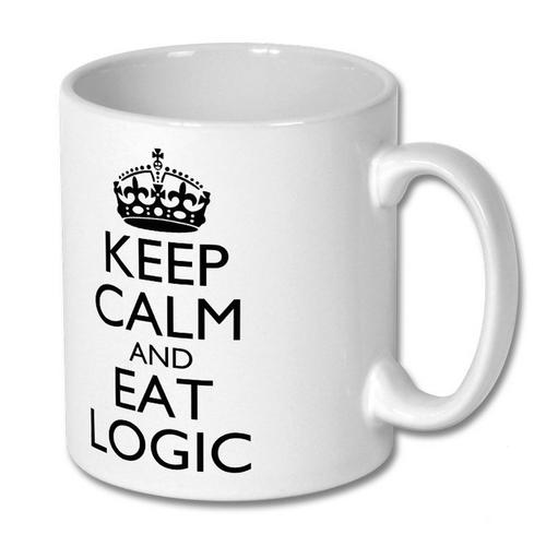 Mug - Keep Calm and Eat Logic