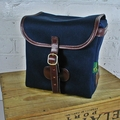 The Classic 7-inch Single Record Hunting Bag - Navy