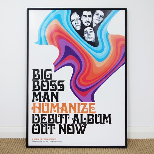 Big Boss Man - Big Boss Man 'Humanize' Promo Poster