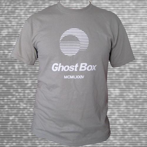 Ghost Box Heavyweight Cotton T-Shirt Grey