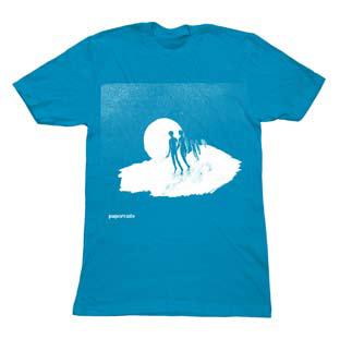 Papercuts - Papercuts Mens T Shirt - Teal