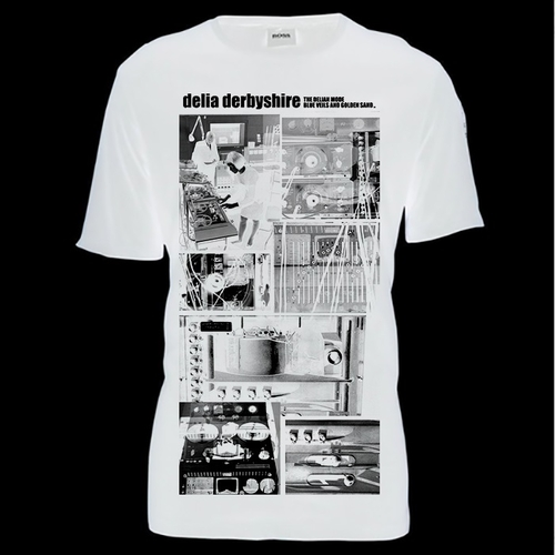 Delia Derbyshire T-Shirt White
