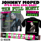 It's a Real Cool Baby - THE FULL MONTY - SIGNED CD + EXCLUSIVE Johnny Moped SCARF + EXCLUSIVE T-SHIRT + ENAMEL BADGE