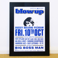Blow Up Club Poster: Oct 2014 Big Boss Man Live
