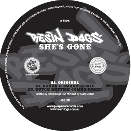 Resin Dogs - She's Gone