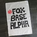 'Foxbase Alpha' Tea Towel