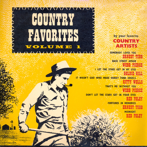 Various Artists - Country Favourites, Vol. 1