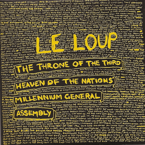 Le Loup - The Throne Of The Third Heaven Of The Nations Millennium General Assembly