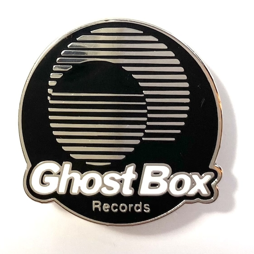 Ghost Box Enamel Badge