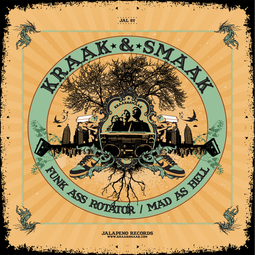 Kraak & Smaak - Funk Ass Rotator & Mad as Hell