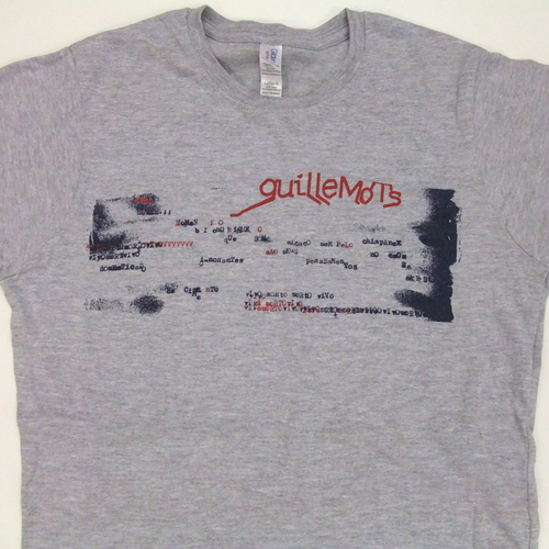 Ladies Grey Typewriter Print T-Shirt