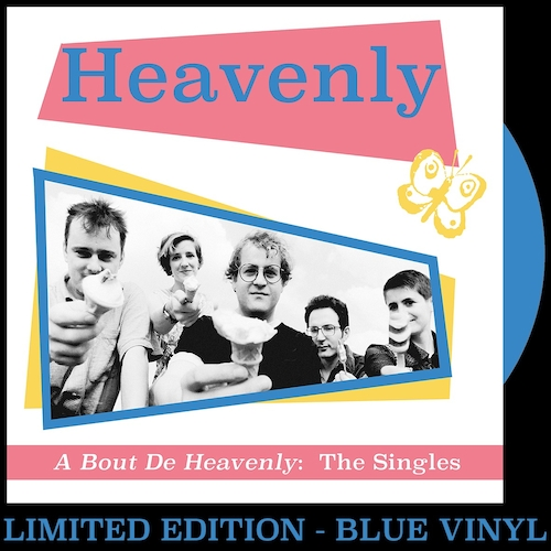 Heavenly - A Bout De Heavenly: The Singles - BLUE VINYL LP