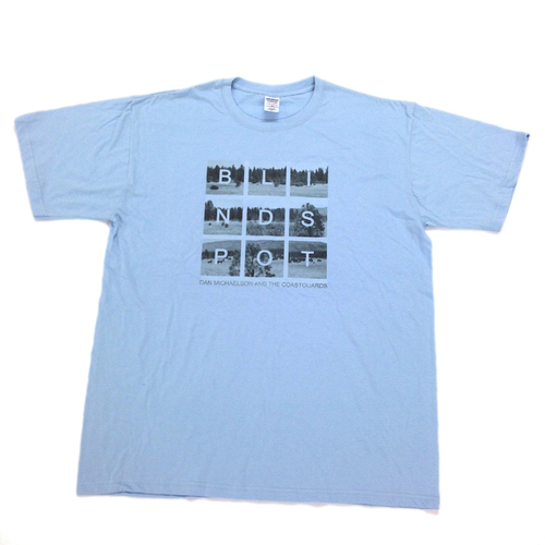 Dan Michaelson and The Coastguards - Blindspot T-Shirt (Blue)