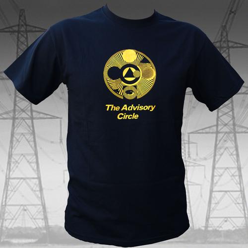 The Advisory Circle - The Advisory Circle - Yellow on Black T Shirt