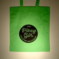 Country Roadshow green tote bag