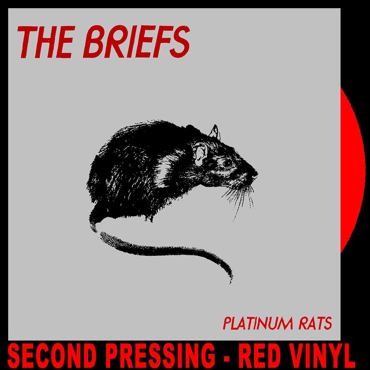 The Briefs - Platinum Rats (RED VINYL LP)