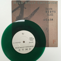 Wild Billy Chyldish - C T M F ‎– Joseph Beuys Flies Again (Bombing Cover) GREEN VINYL 7""
