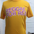 REGGAE FOR REAL TEE - GOLD