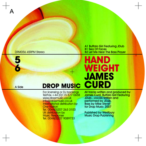 James Curd - Hand  Weight EP