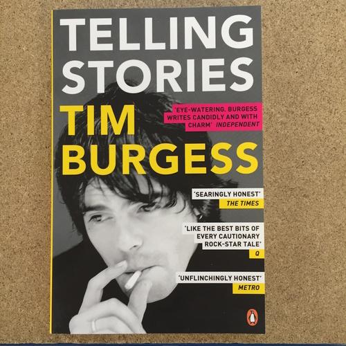 Tim Burgess - TIM BURGESS - TELLING STORIES BOOK