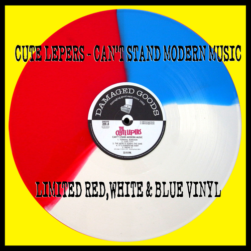 The Cute Lepers - Can't Stand Modern Music (Multicoloured)