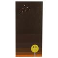 Tri Emoji 2 painting on wood