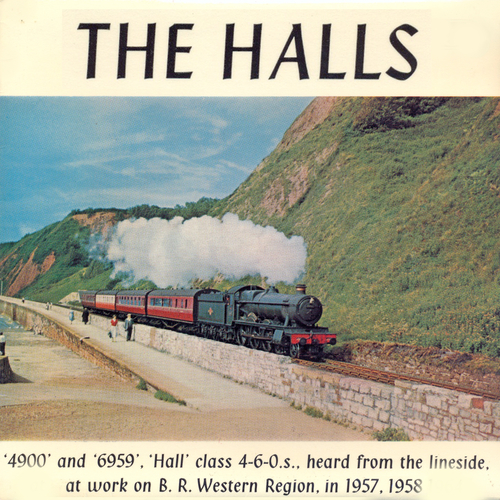 4900 and 6959 Hall Class 4-6-0.s - The Halls