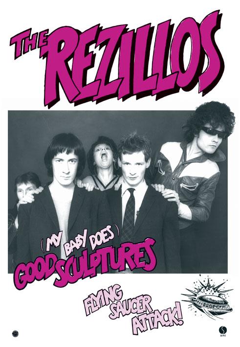 The Revillos! - Rezillos / Good Sculptures poster
