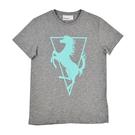 Logo T-shirt - Grey/Mint