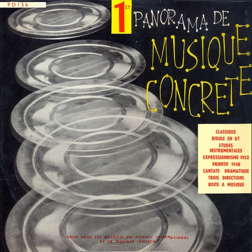 Pierre Henry, Pierre Schaeffer, Philippe Arthuys - 1st panorama de musique concrete (Remastered)