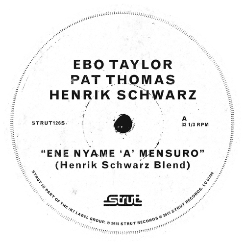 Ebo Taylor| Pat Thomas| Henrik Schwarz - Ene Nyame (Henrik Schwarz Mixes)