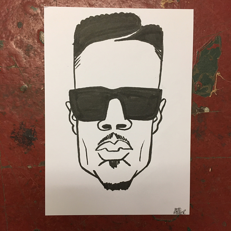 D Double E drawing