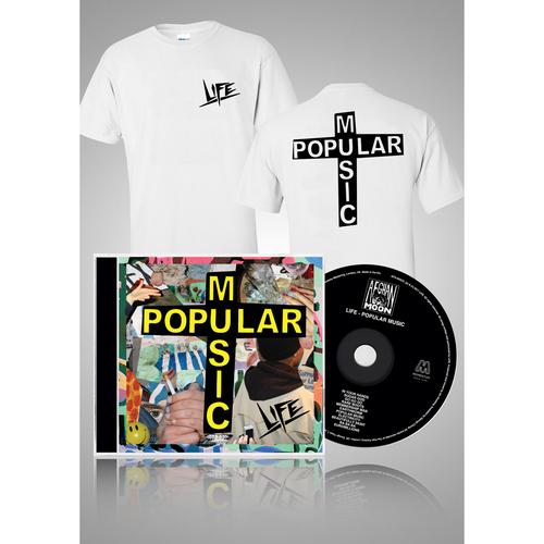 Popular Music CD + Logo T-shirt bundle