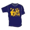 Woman's Go! Team Blue Scream T-shirt