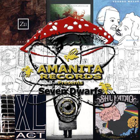 Various Artists - Amanita and the seven dwarfs