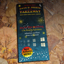 Days and Nights At the Takeaway 9: September