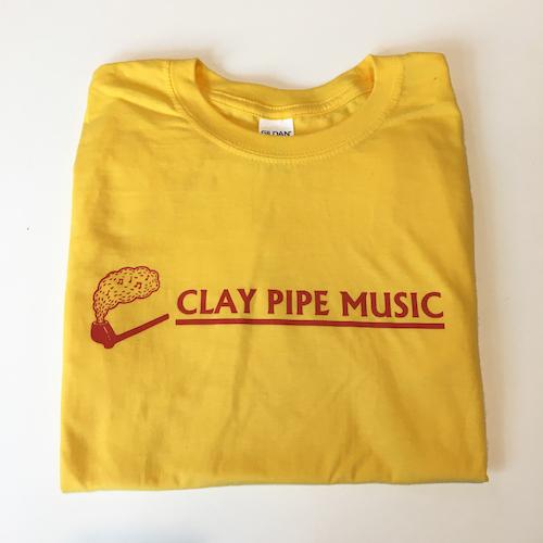 Yellow Clay Pipe Music T-Shirt