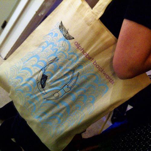 Alphabet Backwards Tote Bag