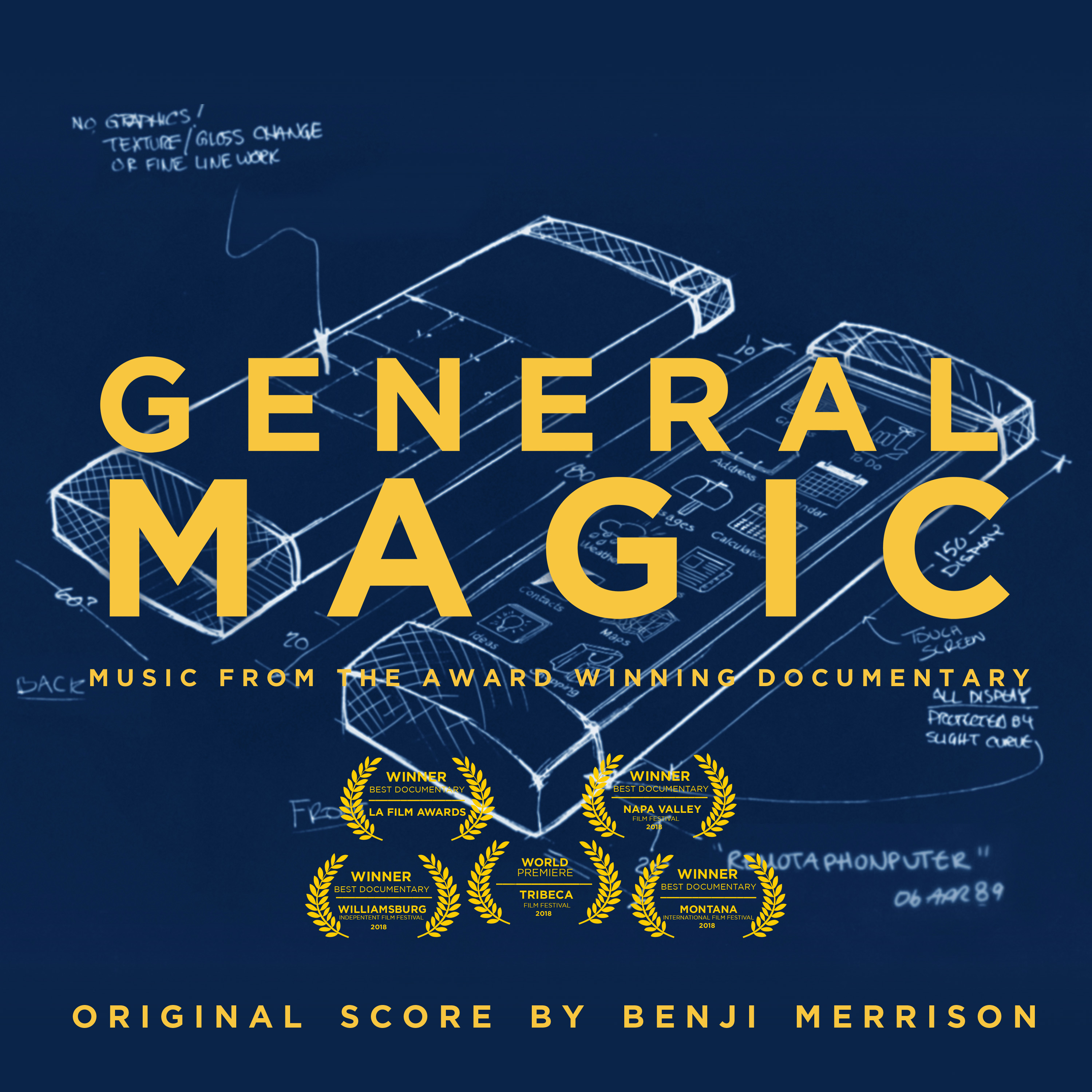 Benji Merrison - General Magic (Original Film Soundtrack)