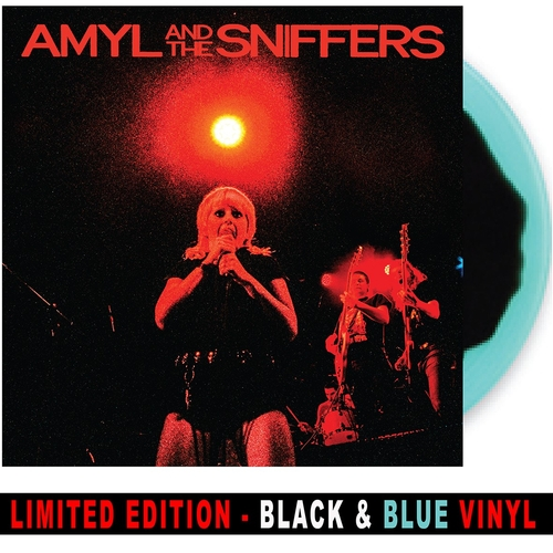 Amyl and The Sniffers - Big Attraction & Giddy Up *BLACK/BLUE VINYL*