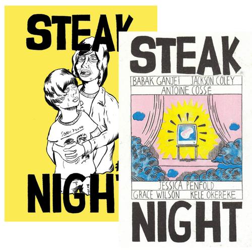 Babak Ganjei - Steak Night Cheap Cut