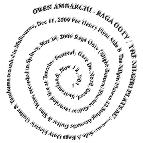 Oren Ambarchi - Raga Ooty