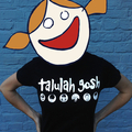 Talulah Gosh Badge Design T-shirt (BLACK)