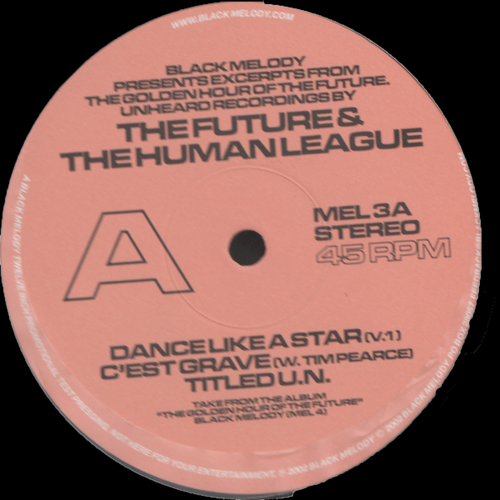 The Human League - Excerpts from the Golden Hour of the Future