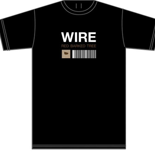 Wire - Red Barked Tree t-shirt