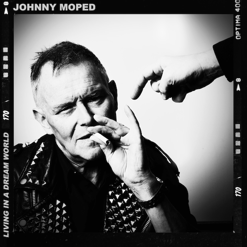 Johnny Moped - Living In A Dream World