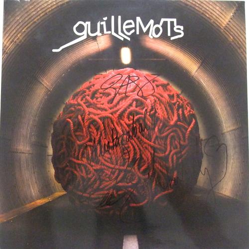 """Guillemots - Red - Signed 12"""" Vinyl"""