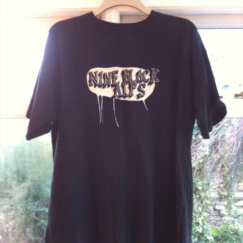 Nine Black Alps - Nine Black Alps Black Quote T-shirt
