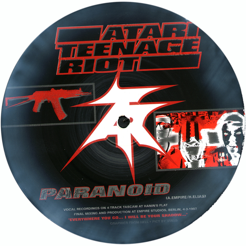 Atari Teenage Riot / Asian Dub Foundation - Split 7 inch Single