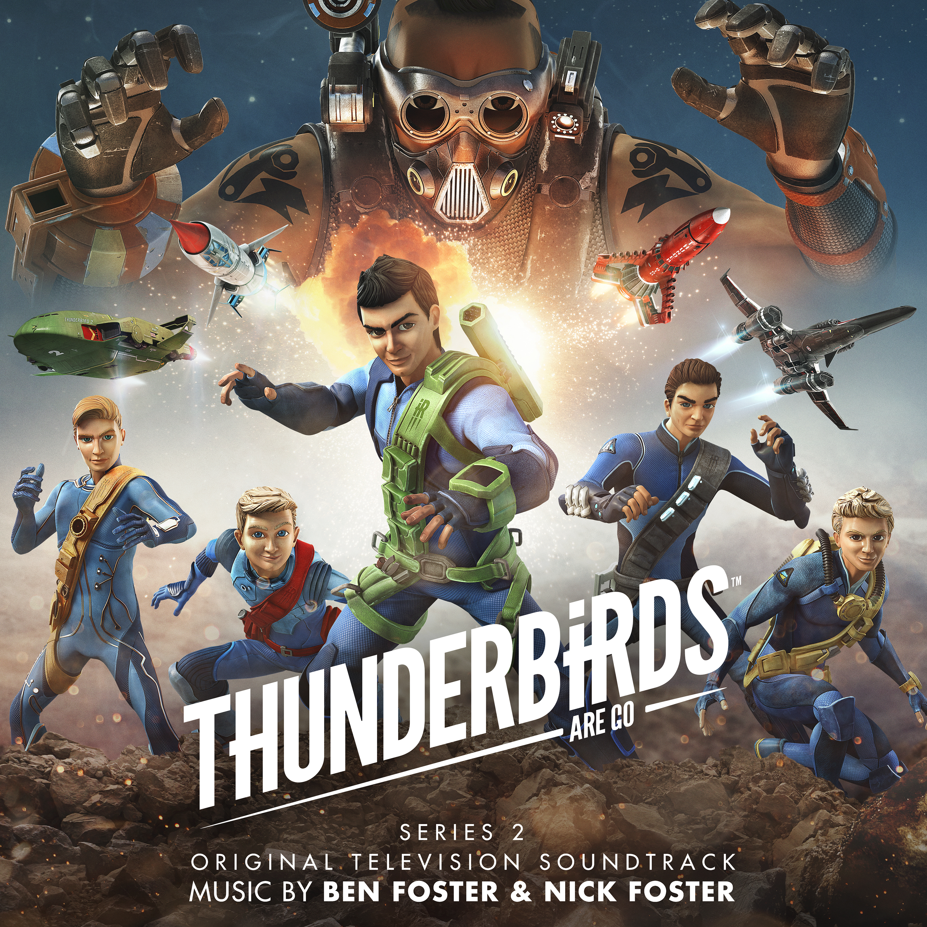 Thunderbirds Are Go Series 2 (Original Television Soundtrack)